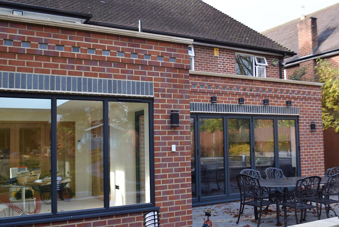Littleover Single Storey Kitchen Extension View 5